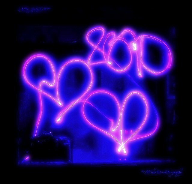 2?1?HeArt?Lights ~ Pink and blue just like a child